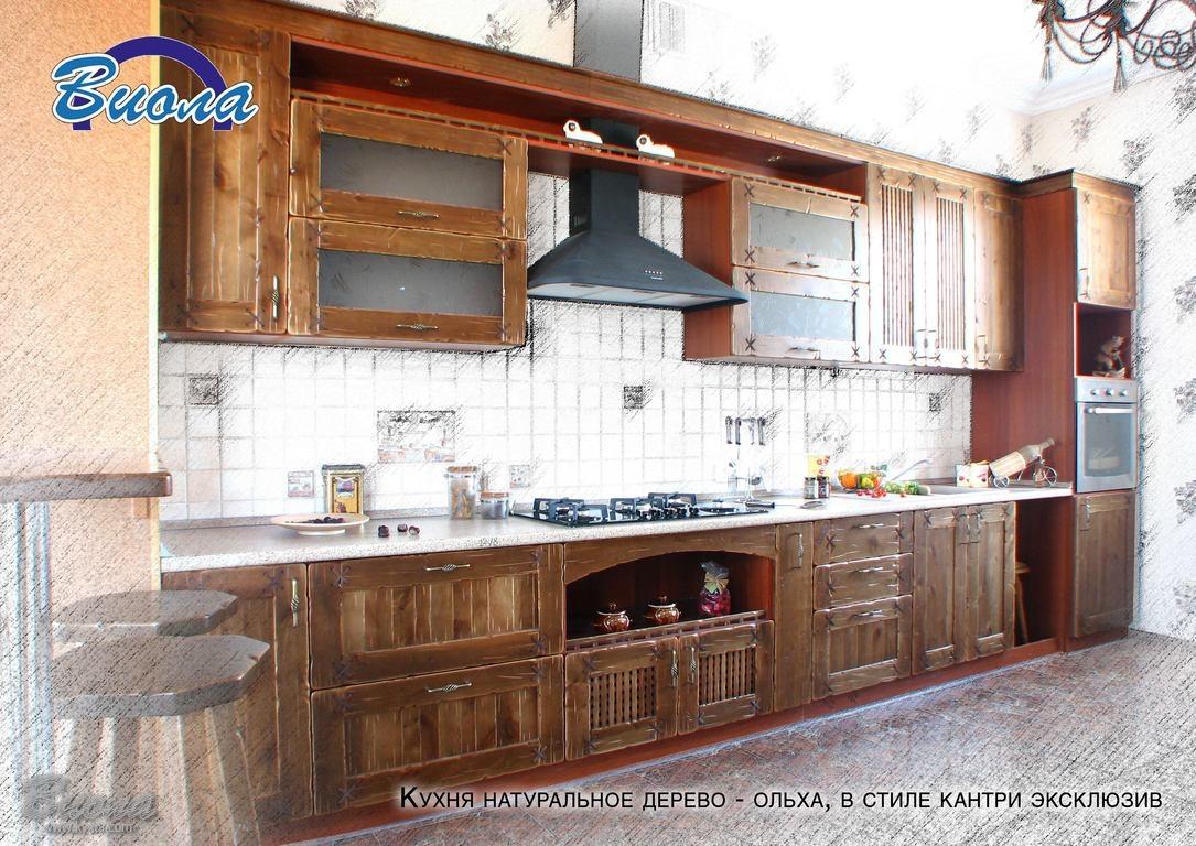 Кухни в стиле Кантри от компании Виола  дизайн кухни в стиле кантри или прованс что выбираете