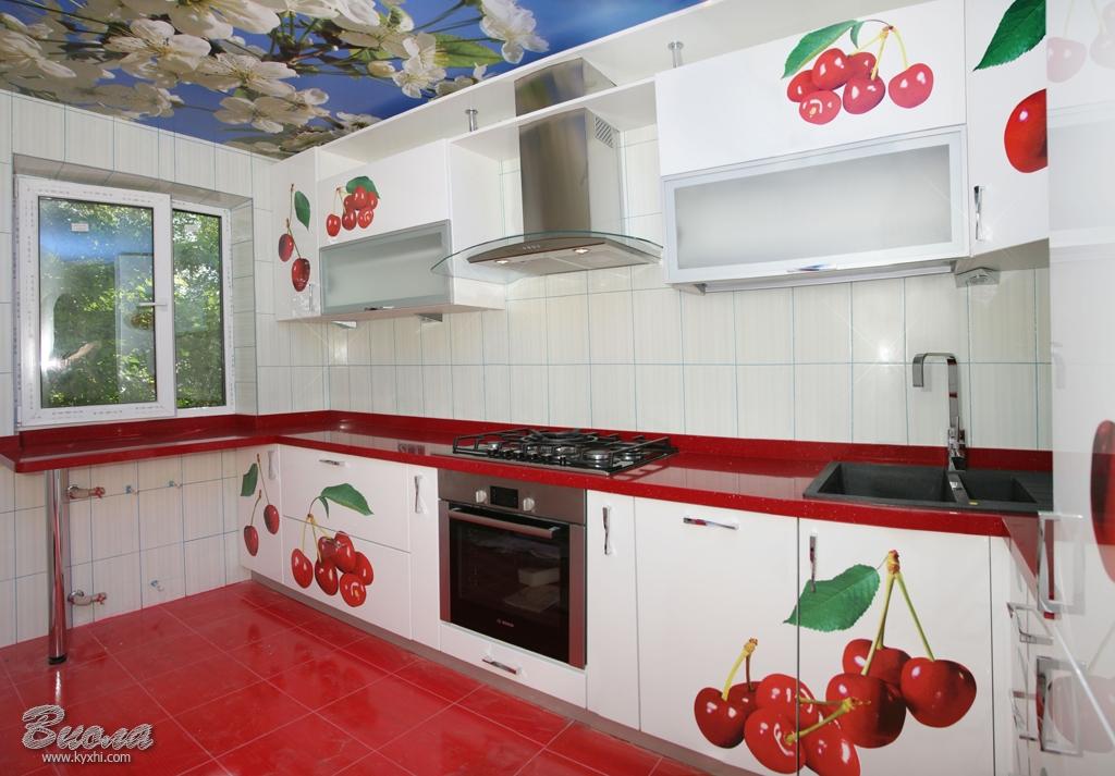 Кухни с фотопечатью: цена, фото, описание - магазин виола.