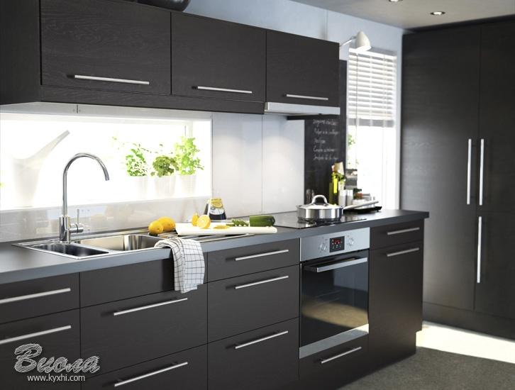 Чорні кухні - секрети стильного дизайну. Як вибрати чорний кухонний ... f33050892c2a4