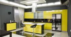 Кухня ар нуво Yellow style - современная кухня!