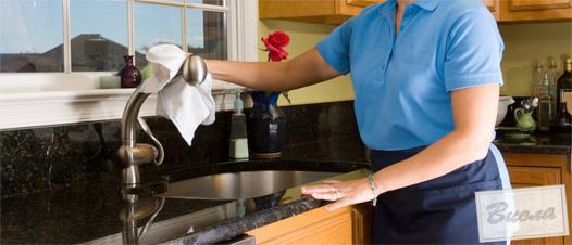 Правильный уход за кухонной комнатой