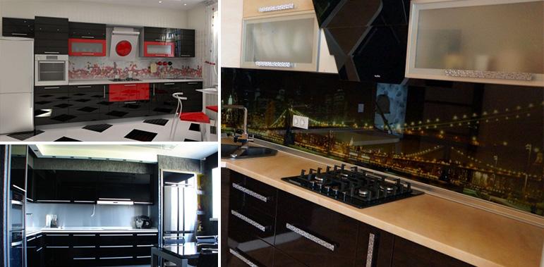 Каленное стекло для кухни