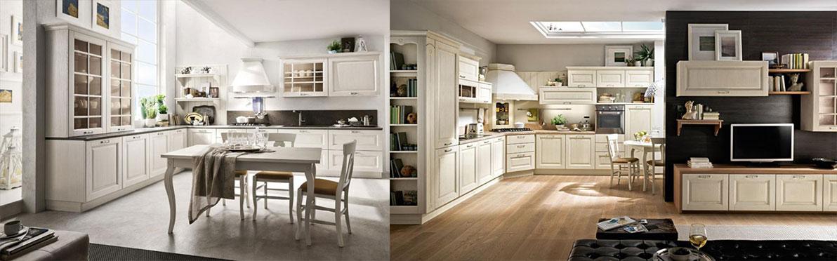 Кухни в современном стиле классика