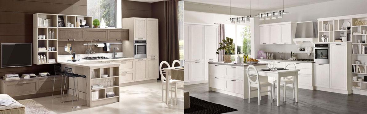 Кухни в современном классическом стиле