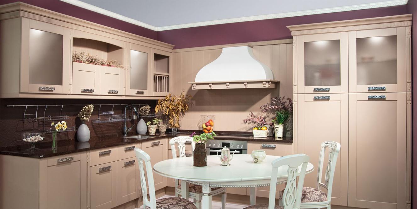 Неоклассический стиль в интерьере кухни